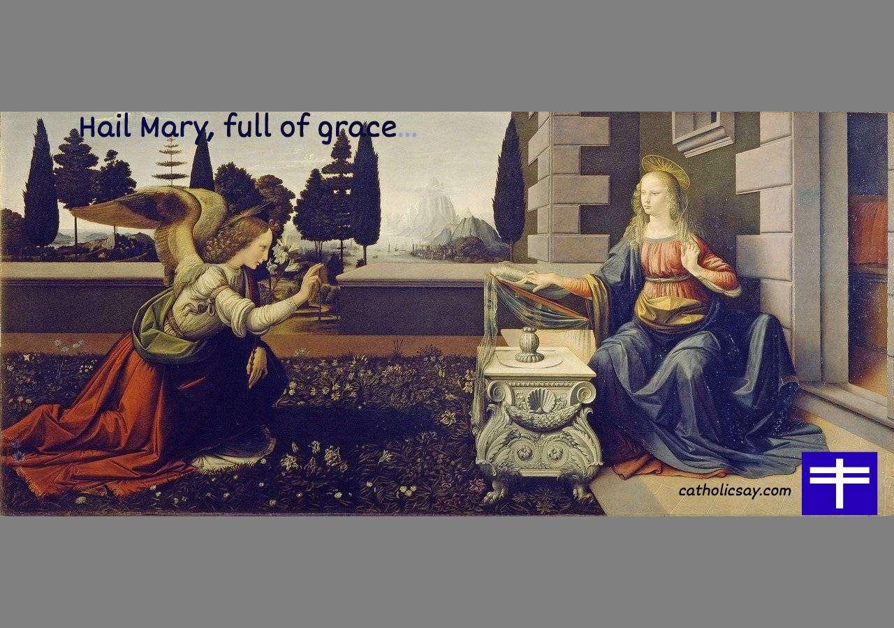 """History of the """"Hail Mary"""" Prayer"""
