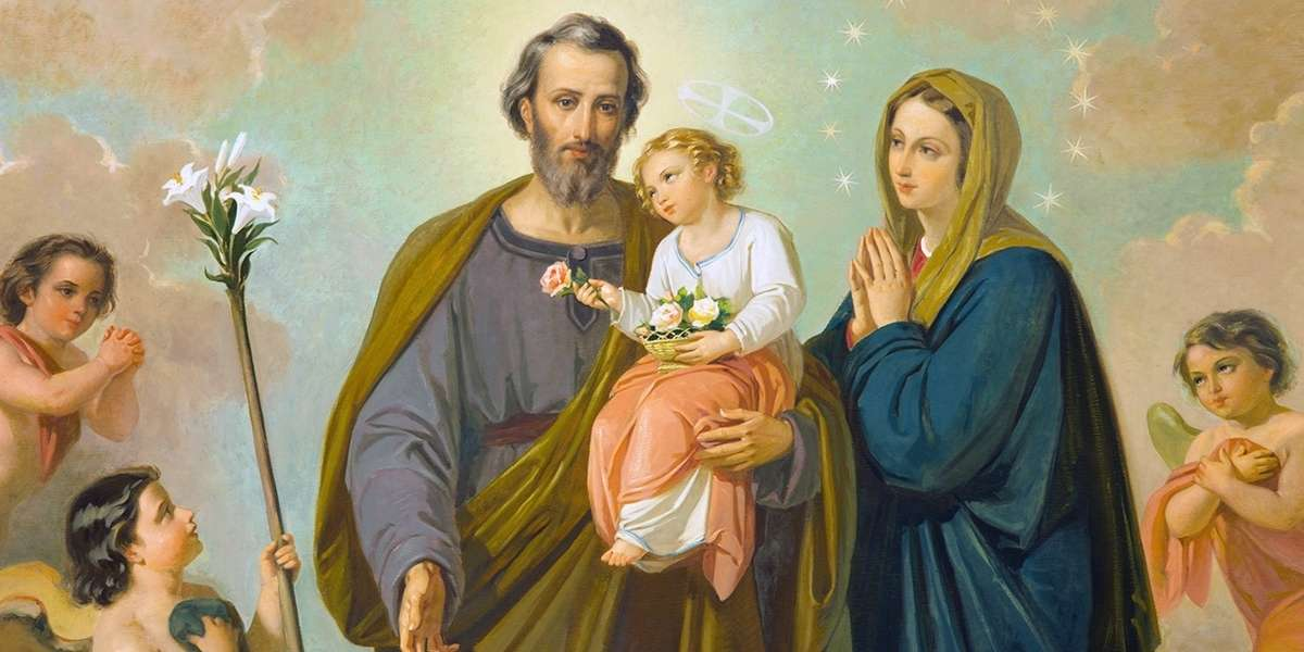 The Holy Family's marriage advice
