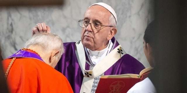 Vatican: Imposition of ashes on Ash Wednesday without contact