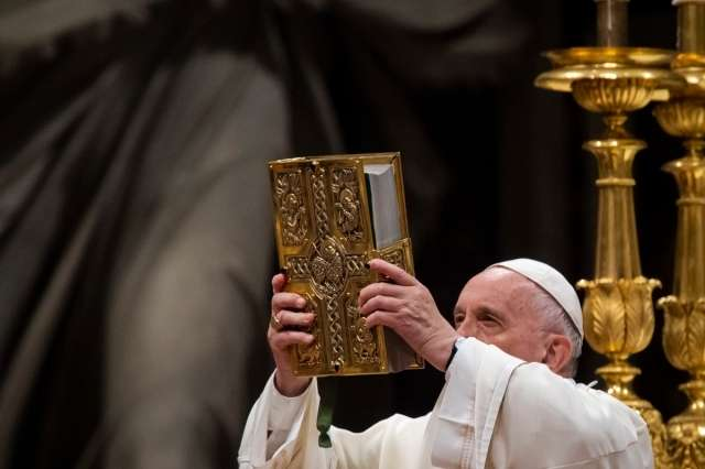 Hear God's voice, see God's face: Full text of Pope's homily for Word of God Sunday