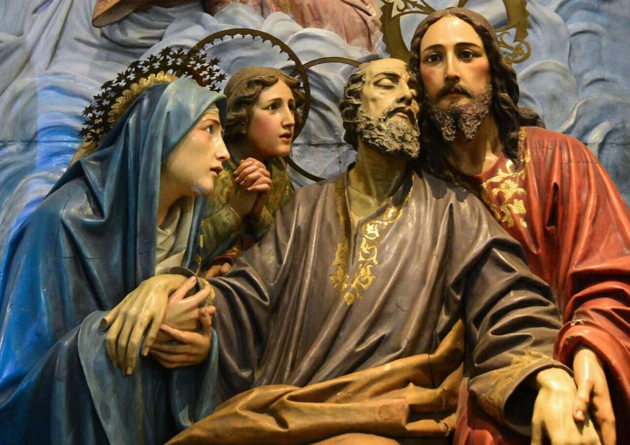 How did Saint Joseph die?