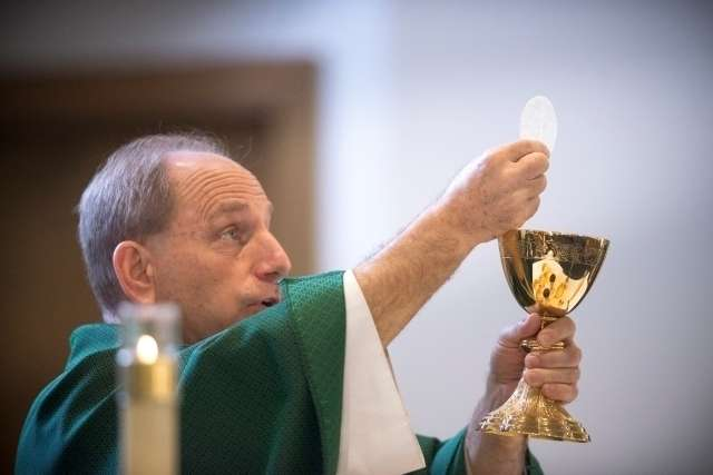 Why St. Joseph's name was omitted from the Eucharistic prayer at Mass