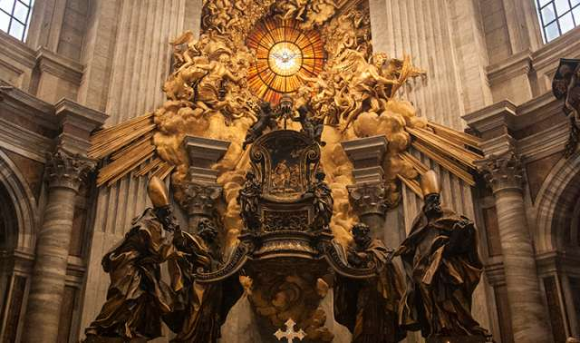 The Feast of the Chair of St. Peter (MONDAY, FEBRUARY 22)