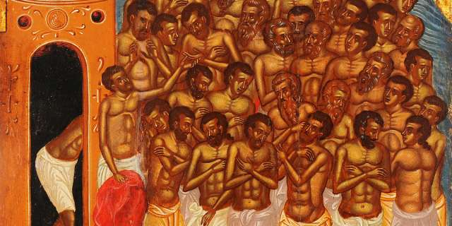 Saint of the Day: The Forty Martyrs of Sebaste (WEDNESDAY, MARCH 10)