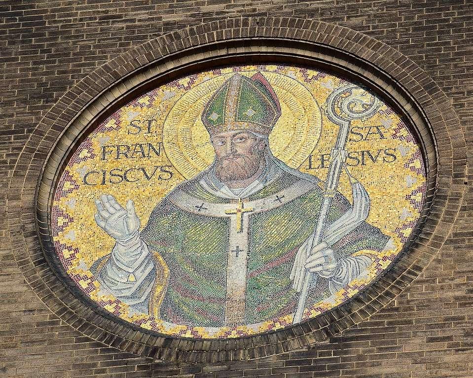 When facing temptation, follow St Francis de Sale's advice