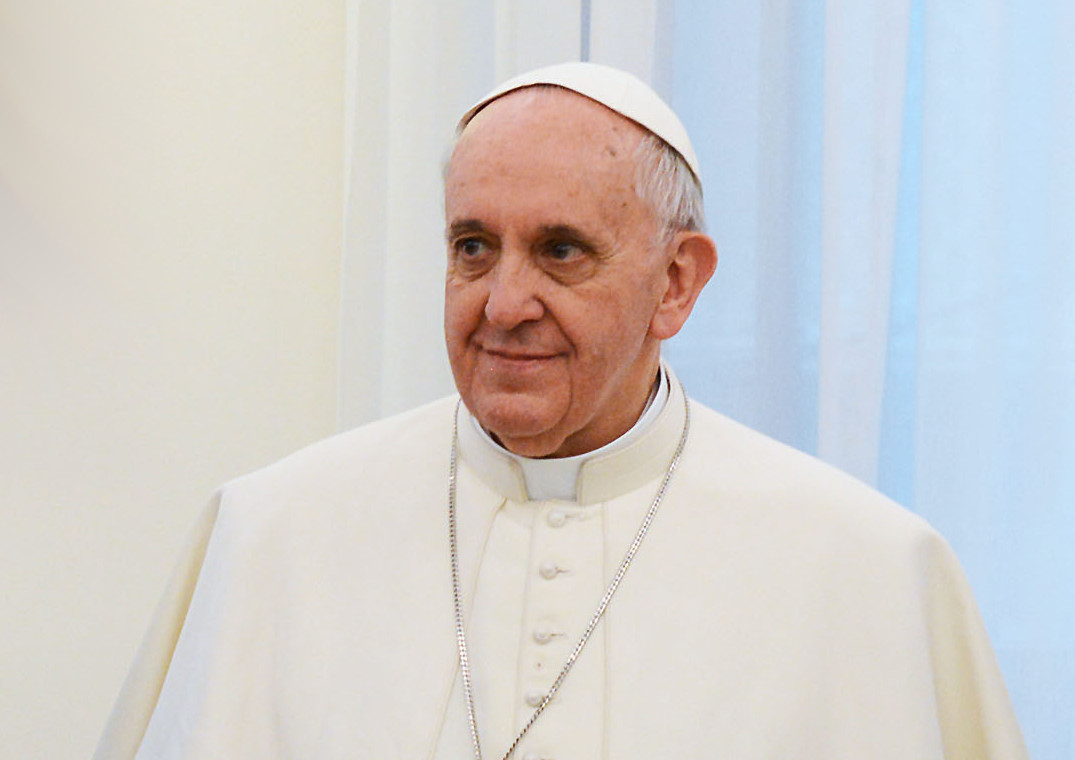 What is the annual salary of Pope Francis?