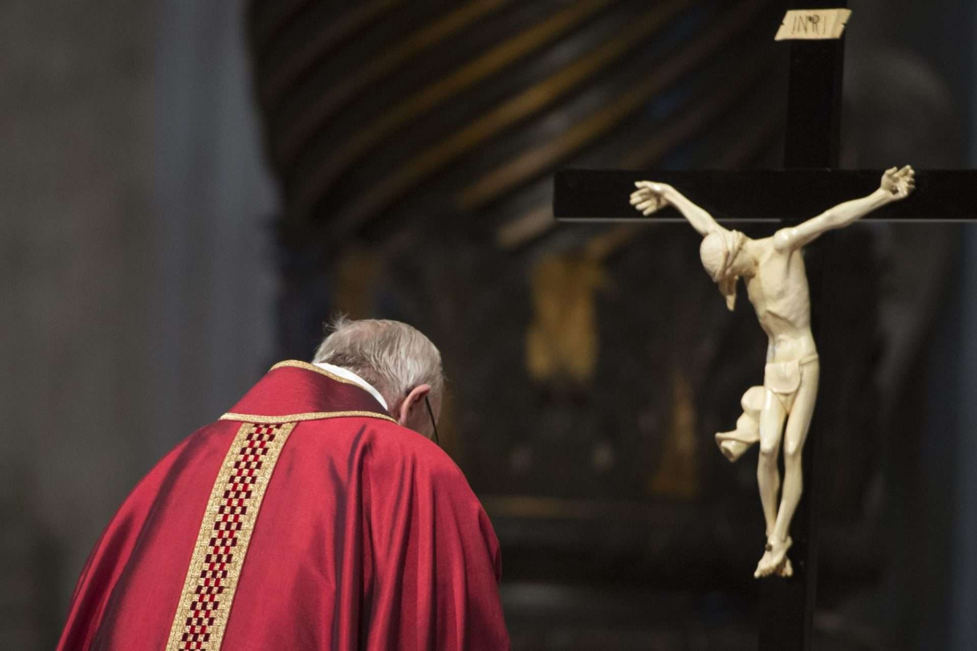 Why do Catholics bow at the Name of Jesus?