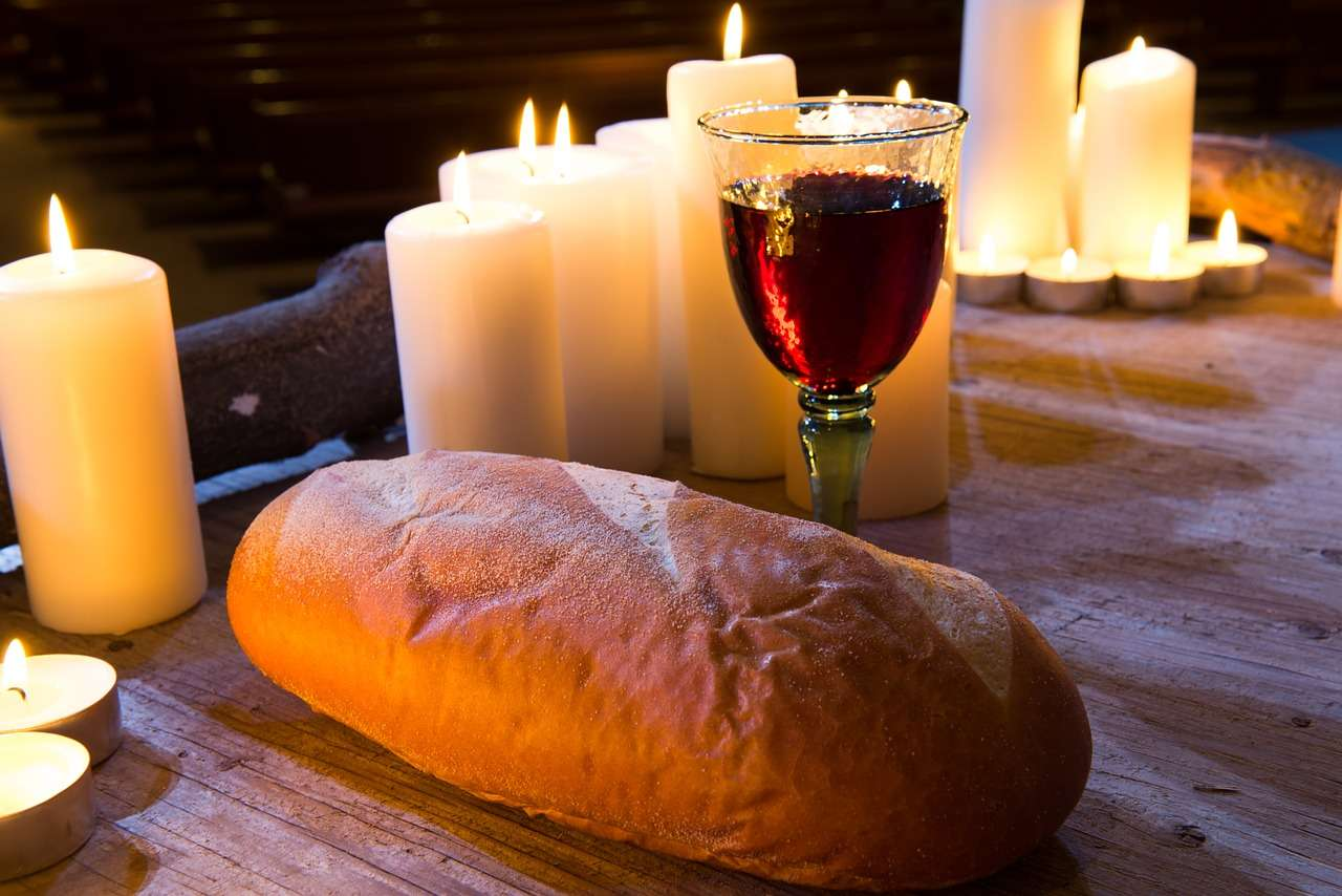Why Jesus chose Bread and Wine?